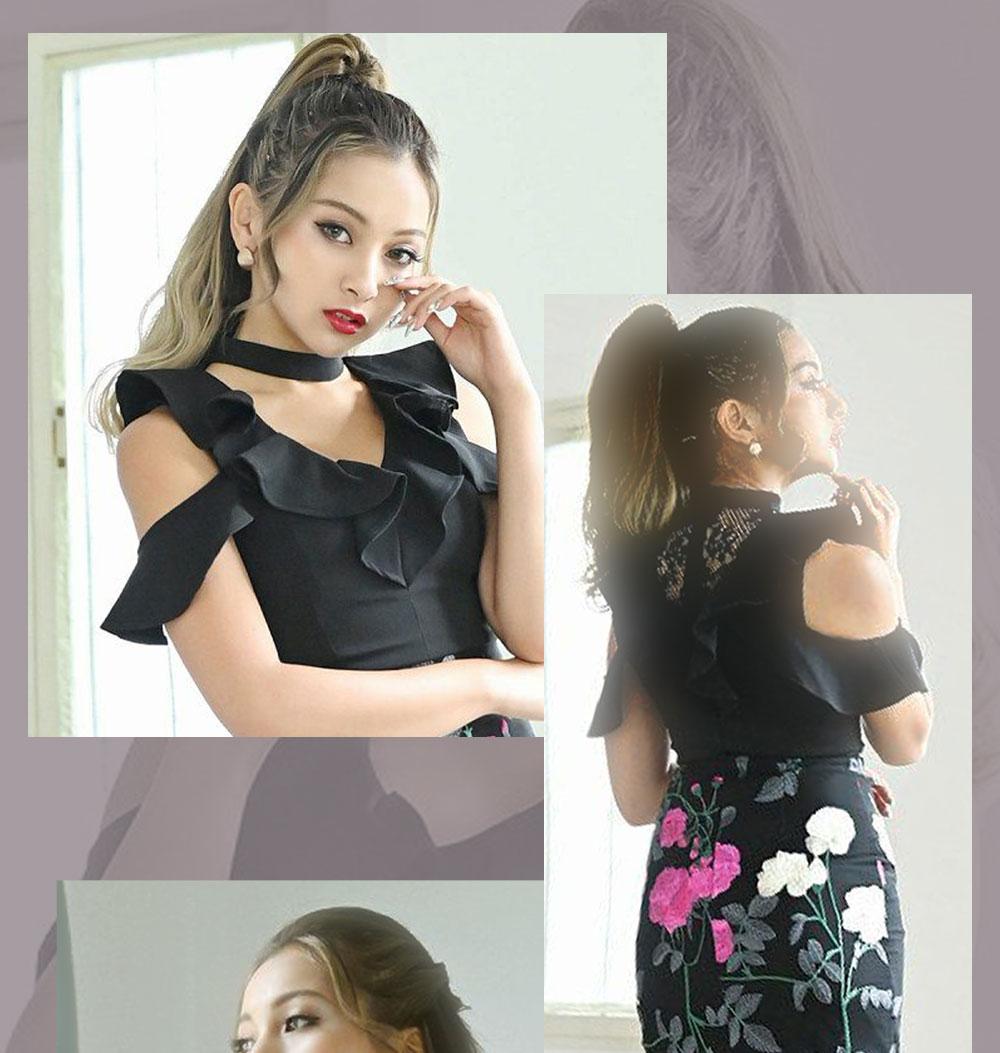 ゆきぽよちゃんプロデュースドレス
